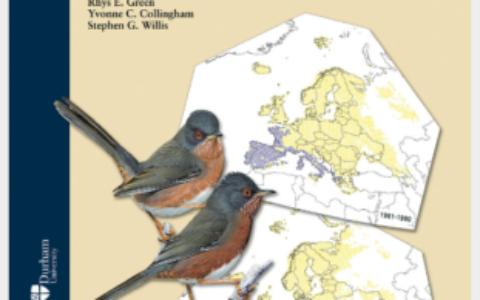 Climatic Atlas European Breeding Birds cover